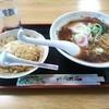 銀華亭 - 料理写真:ラーメン+半チャーハンセット♪【500+200円】
