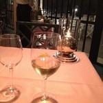 アサオガーデン - 店オススメの白ワイン。とても美味しかった。