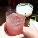 23217451 - ノンアルとおビールで乾杯☆彡