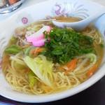 たつ食堂 - 2013.12 中華そば ¥650
