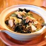 プーピン - ゲーンケーガイ(1,500円)鶏肉と野菜のチェンマイ風スープ