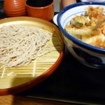 23234898 - 天丼+小蕎麦