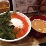 IKR51 - ぷちぷち丼&しじみ汁(サービス)