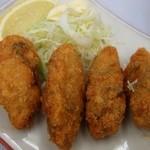 十三屋 - 牡蠣フライ