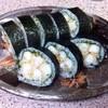 郷土割烹新海 - 料理写真:天巻き1200円 海老の天ぷら11本を繋げます(*^^)v