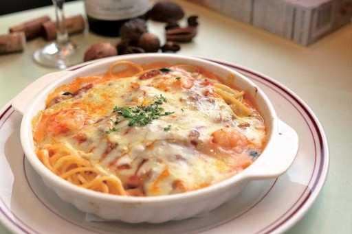 美味しそうなパスタグラタン・スパゲッティー