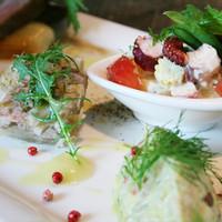 ビストロ オリーブ - 前菜の盛り合わせは季節によって内容が変わります。