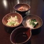 海山 - ランチ副菜セット