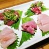 華しょう - 料理写真:刺身(鶏)五種盛り♪