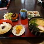 庵々 - うどん定食 1,000円