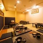 ちょんまげ - 【人気の小上がり席】 琉球畳が◎!最大30名様迄。予約がお勧め!