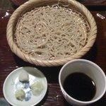 薮蕎麦 宮本 - ざる蕎麦