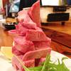ホルモン家 徳侍郎 - 料理写真:厚切りのタンは2人前以上のご注文でタワーになります☆