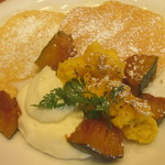 ステフォレ - かぼちゃのブリュレパンケーキ