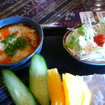 ASIAN MARKET DECORER - スープとサラダ◇2009/9