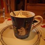 COCOA SHOP AKAITORI - アイスココアのカップはムーミン