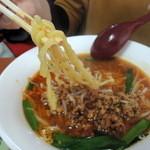 火四季 - 台湾味噌ラーメンの麺