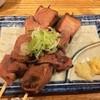 炭焼やきとん呑吉 - 料理写真:「炙りレバ刺し」150円×2