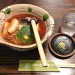 渡邊 - 湯葉そば(1,050円)