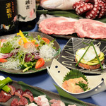 軍鶏吉 - 料理集合