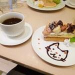 ナチュカフェプラス - ケーキセット680円