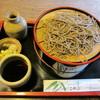 こやぶ竹聲庵 - 料理写真:ざるそば¥1000