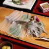 清力旅館 - 料理写真:イカ活き造り(2013)