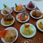 トゥーランドット - 前菜9種盛り
