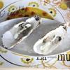 ラ・ムジカ - 料理写真:広田湾産大粒!生牡蠣 海水のジュレ ライム風味 (2013/12)