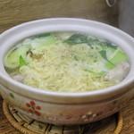 餃子荘 ムロ - 鶏煮込みそば (2013/12)