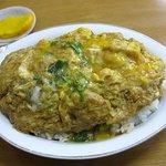みゆき食堂 - カツ丼580円