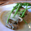 イタリア料理 グランカッロ - 料理写真:日生産牡蠣のグリル、ヴィネガーバターソース