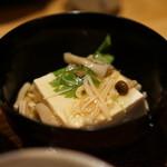 井ざわ - 茸餡かけ豆腐