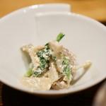 井ざわ - 青菜の白和え