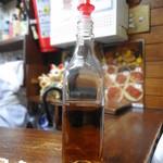 味珍 - 梅シロップを入れるとオイシイ♪ ヤカンのアルコールが感じられなくなり、キケンかも・・