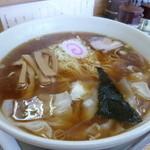 大勝軒 - '13/12/29 ワンタン麺(850円)