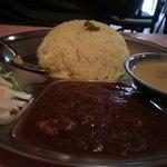 カレーの文化屋食堂 - 体に優しいインドカリー950円