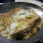 豊田屋 - 生揚げの卵とじ