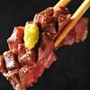 おんどる - 料理写真:特選ランプステーキ定食。