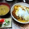 ひら井 - 料理写真:カツ丼¥720(みそ汁、お新香つき)