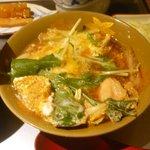 23400718 - 鶏と白菜の玉子とじ。まいぅ