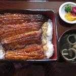 コジマヤ本店 - うな重松3300円