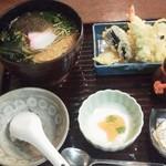 四季彩 - 「茶そば」(1,260円)