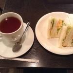 ガーデンプレイスカフェ - モーニングBセット400円