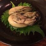 とも庵 - 牡蠣