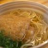 堺うどん ちはや - 料理写真:かけうどん(きつね)(細麺)