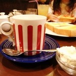 coffee shop KAKO  - 娘が頼んだココア(13年12月)