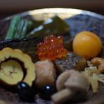 浅田屋 - お皿にもりました1