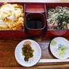 増田屋 - 料理写真:親子膳とざるそばセット