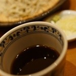 円山 古今 - つゆ、薬味